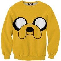 Mr. GUGU & Miss GO, Jake Face hosszúujjú pulóver