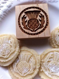 Cookie mold source - including nutcrackers nativity camels...scottish crest etc