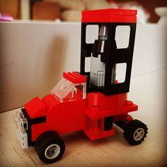 Lego rocket transport