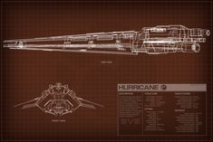 EVE Online Hurricane Schematic by Titch-IX on DeviantArt Eve Online Ships, Online Art, Spaceship Concept, Concept Ships, Robot Technology, Technology Gadgets, Starfleet Ships, Ship Of The Line, Mike Mignola