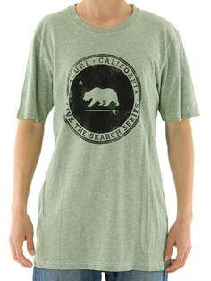 Rip Curl Search Cali Bear T Shirt @Rip Curl www.surfride.com