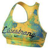 Nike-nike livestrong pro graphic womens sports bra