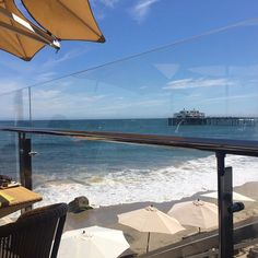 "@raakheen's photo: ""Lunch  with a view  #foodie #foodiela #malibu #mydayinla #sundayafternoonescapes"""