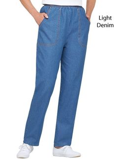 100% Cotton Denim Jeans from Carol Wright Gifts on Catalog Spree, my personal digital mall.
