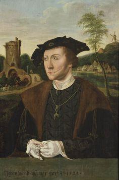 Anoniem, Portret van Johan II van Wassenaer Collectie Museum De Lakenhal