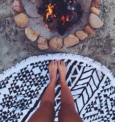 Bonfires & a roundie