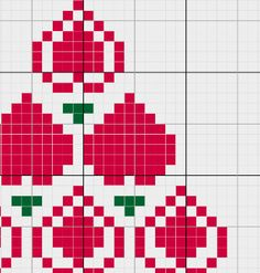 3 Christmas Tree Cross Stitch Pattern by CamisTheCrossStitch