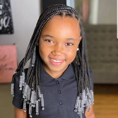 Black Kids Hairstyles, Cute Braided Hairstyles, Natural Hairstyles For Kids, African Braids Hairstyles, Little Girl Hairstyles, Natural Hair Styles, Little Girl Braids, Braids For Kids, Girls Braids