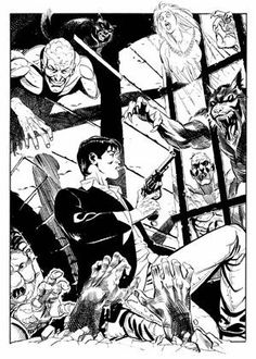 Dylan Dog Dylan Dog, Dogs, Fictional Characters, Art, Art Background, Pet Dogs, Kunst, Doggies, Performing Arts