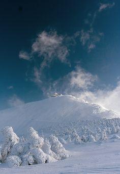 Sniezka: Photo by Photographer Piotr Krzaczkowski Snow Scenes, Winter Scenes, Poland Tourism, Wim Hof, Visit Poland, Hiking Routes, Earth Wind, Great Places, Amazing Places