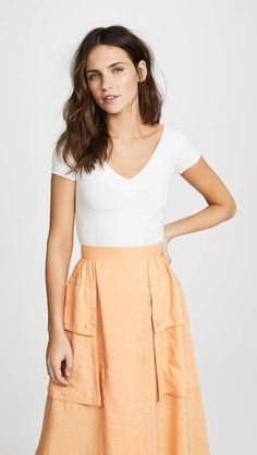 fd04fdbf6ff Temperley London Lavender Knit Top High Waisted Skirt
