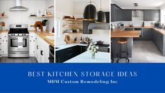 The kitchen is one of the most difficult rooms to organize. It's a place that collects a lot of clutter. In Los Angeles, many homeowners encounter this issue. And you are one of them, right? Here, we have introduced the best kitchen storage ideas to make your cooking space organized. kitchenstorageideas kitchenstorageideaslosangeles kitchenremodelplanning kitchenremodelplan kitchenremodeling kitchen kitchenremodelingservice losangeles Kitchen Remodeling, Kitchen Storage, Clutter, Cool Kitchens, Storage Ideas, Organize, Rooms, Good Things, Space