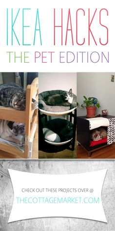 Ikea Hacks: The Pet Edition - The Cottage Market The circle beds
