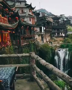 Furong Town in the Hunan Province of China has a beautiful natural landscape, rich Tujia ethnic folk customs and is also a perfect place to… Provinces Of China, Travel Videos, Beautiful Places To Travel, China Travel, Vacation Trips, Vacation Travel, Hawaii Travel, Travel Packing, Family Travel