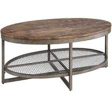 Sheridan Coffee Table with Magazine Rack