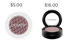 Come through, Colourpop, with the $5.00 eyeshadow in Bill. MAC's Quarry is $11 more.