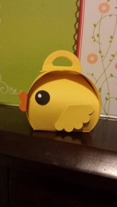 Ducky - Curvy box by Stampin Up!