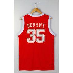 b23512a44 Aliexpress.com   Buy Kevin Durant NCAA College Basketball Jerseys