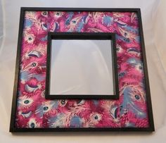 Purple Peacock Feather Decopatched Mirror - Free P Peacock Bedroom, Purple Peacock, Pretty In Pink, Mirrors, Feather, Crafty, Shop, Fun, Kids