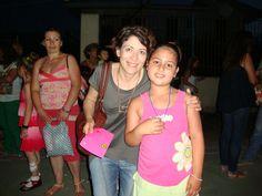 Vivian Marie with Emy (teacher)