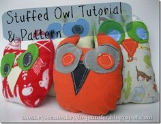 Owl Stuffie and pattern