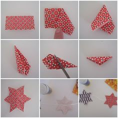 Alaska, Long Beach: An Actual Hanukkah Craft Tutorial- Star Garland!