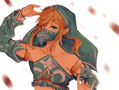 breath of the wild link gerudo | Tumblr