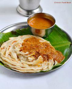 Parotta Recipe-How To Make Kerala Malabar Parotta(With Video)   Chitra's Food Book