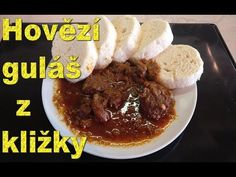 Hovězí guláš z kližky - YouTube Beef, Recipes, Youtube, Food Recipes, Rezepte, Ox, Recipe, Cooking Recipes, Youtube Movies