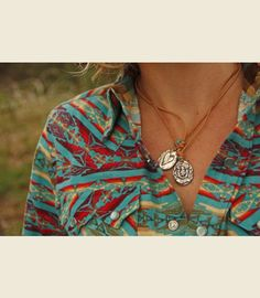 LUCKY GIRL CORD NECKLACE - Junk GYpSy co.