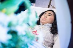 Vivian Pham In Her Open Casket During Funeral