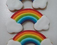 Biscoito decorado Arco Íris                                                                                                                                                     Mais
