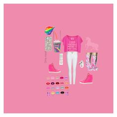 """""""Unicorns"""" by iscreammm on Polyvore featuring Burberry, Living Royal, Nach Bijoux and My Little Pony"""