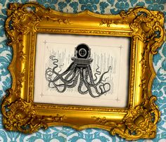 Who wouldn't want a crazy octopus in their room?