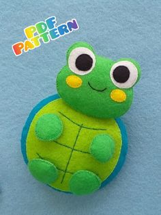 Felt Turtle Pattern, Sea Turtle Plush sewing Pattern, turtle lover gifts, soft toy pattern, baby mobile felt, sea creatures, ocean animals Felt Turtle, Turtle Plush, Handmade Ideas, Handmade Toys, Etsy Handmade, Turtle Pattern, Amazing Gifts, Etsy Business, Pattern Sewing