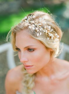 A Whimsical California Wedding Inspiration Shoot from Carmen Santorelli - wedding hairstyle