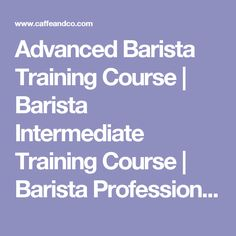 In addition to basic barista skills, Caffè & Co. provide an advanced barista training course with much more attention to detail and much more scientific where we will use lab equipment such as the refractometer. Barista Training, Opening A Coffee Shop, Coffee Cafe, Training Courses, Porch, Career, Future, Business, Kaffee