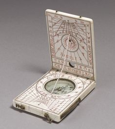 Hans Troschel the Elder, Portable Diptych Sundial, c. 1598