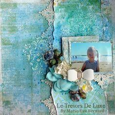 Tresors de Luxe: A beach layout by Marie-Eve Bernard