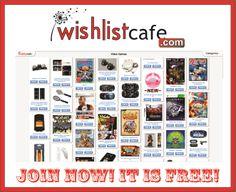 Wishlistcafe.com Cool Site