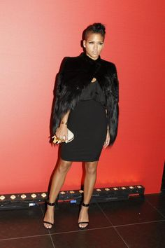 Cassie in Givenchy
