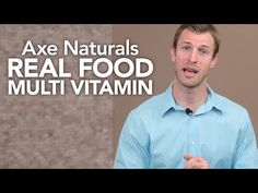 Real Food Multi Vitamin by Axe Naturals™ - YouTube