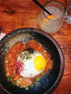 Beef in purgatory + soju Restaurant History, Brunch, Favorite Recipes, Beef, Meals, Dinner, Breakfast, Ethnic Recipes, Food