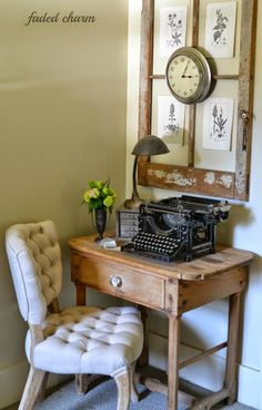 Desk - Faded Charm