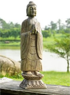 meditating outdoor garden buddha statue sculpture figurine statuary available for sale at