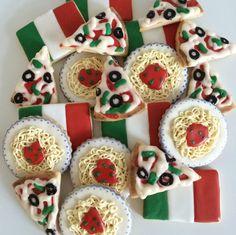 Fruit Cookies, Fancy Cookies, Iced Cookies, Cut Out Cookies, Cute Cookies, Royal Icing Cookies, Cupcake Cookies, Sugar Cookies, Cupcakes