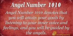 Angel Number 1010 Meaning - Trust Yourself Always | SunSigns.Org
