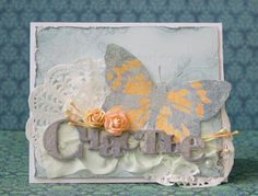 Бумага-Марака: Бабочка-счастье