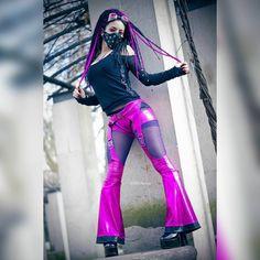 Witch Fashion, Dark Fashion, Gothic Fashion, Alternative Girls, Alternative Fashion, Cyberpunk, Pastel Punk, Goth Subculture, Goth Beauty