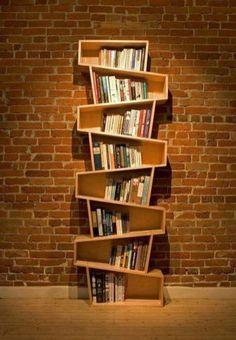 Stunning Creative Bookshelves Design Ideas 8